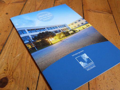 Franziskanergymnasium: Imagebroschüre